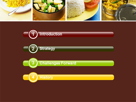 Indian Food PowerPoint Template Slide 3