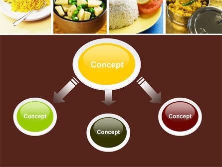 Indian Food PowerPoint Template, Slide 4, 05011, Food & Beverage — PoweredTemplate.com