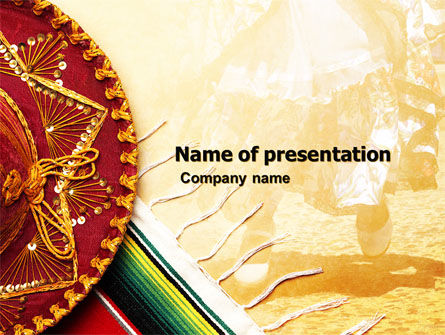 Cinco de Mayo PowerPoint Template, 05012, Holiday/Special Occasion — PoweredTemplate.com