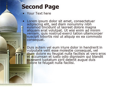 Islamic Architecture PowerPoint Template Slide 2