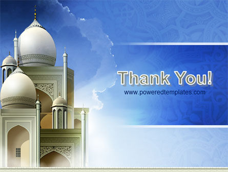 Islamic Architecture PowerPoint Template Slide 20