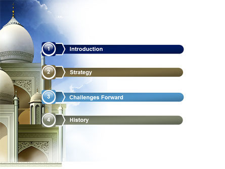 Islamic Architecture PowerPoint Template Slide 3