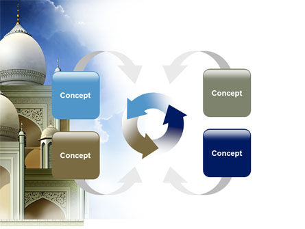 Islamic Architecture PowerPoint Template Slide 6