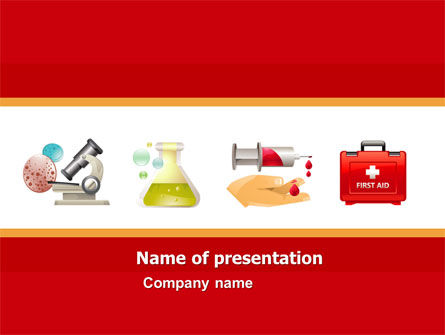 Medical: Medicinal Chemistry PowerPoint Template #05015