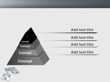 Gray Jigsaw PowerPoint Template Slide 12