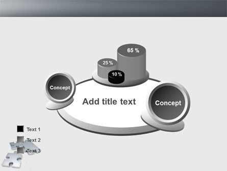 Gray Jigsaw PowerPoint Template Slide 16