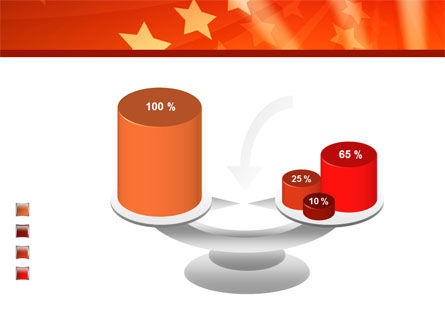 Red Stars PowerPoint Template Slide 10
