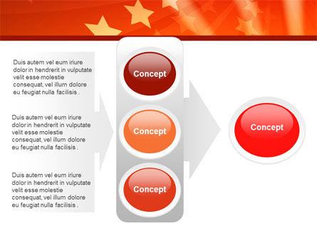 Red Stars PowerPoint Template Slide 11