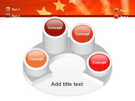 Red Stars PowerPoint Template Slide 12