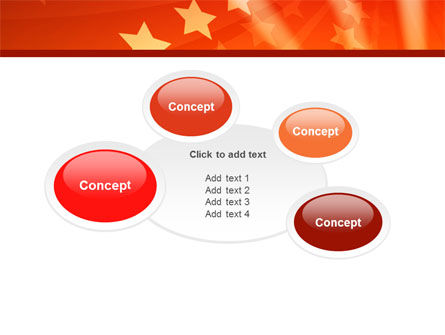 Red Stars PowerPoint Template Slide 16