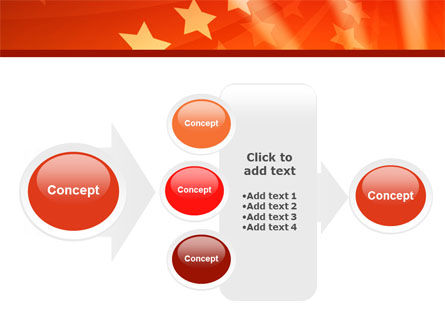 Red Stars PowerPoint Template Slide 17