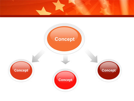 Red Stars PowerPoint Template Slide 4