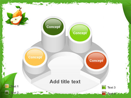 Free Pear PowerPoint Template Slide 12
