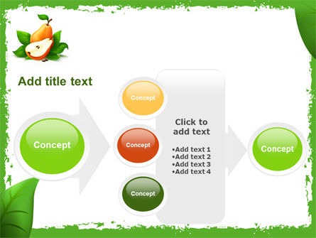 Free Pear PowerPoint Template Slide 17