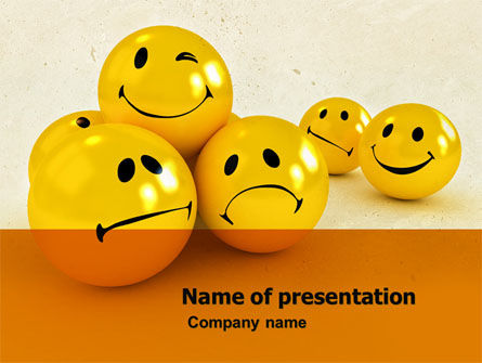 Emoticons PowerPoint Template