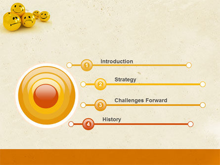 Emoticons PowerPoint Template Slide 3