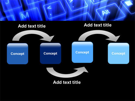 Virtual Keyboard PowerPoint Template, Slide 4, 05023, Technology and Science — PoweredTemplate.com
