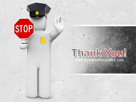 Traffic Police PowerPoint Template Slide 20