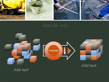 Cement PowerPoint Template Slide 17