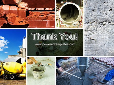 Cement PowerPoint Template Slide 20