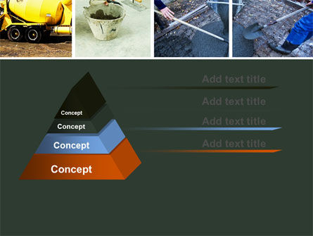 Cement PowerPoint Template, Slide 4, 05027, Careers/Industry — PoweredTemplate.com