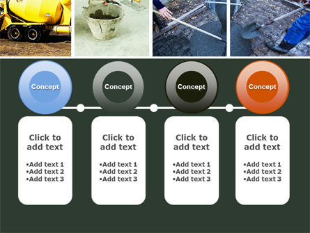 Cement PowerPoint Template Slide 5
