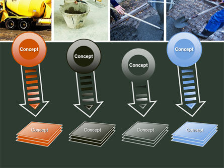 Cement PowerPoint Template Slide 8