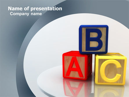 Basics PowerPoint Template, 05031, Education & Training — PoweredTemplate.com