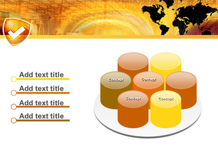 Shield PowerPoint Template Slide 12