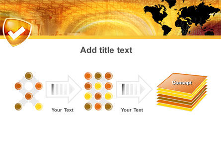 Shield PowerPoint Template Slide 9