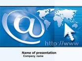 Technology and Science: Modelo do PowerPoint - solução de website #05034