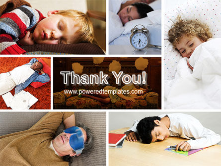 Sleep PowerPoint Template Slide 20