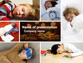 Medical: Schlaf PowerPoint Vorlage #05036