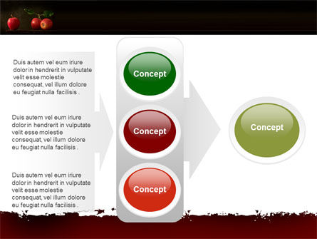 Red Apples PowerPoint Template Slide 11