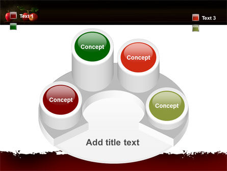 Red Apples PowerPoint Template Slide 12