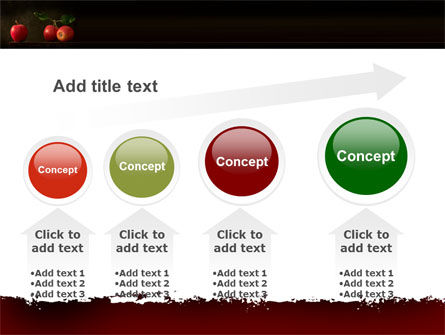 Red Apples PowerPoint Template Slide 13