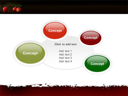 Red Apples PowerPoint Template Slide 16