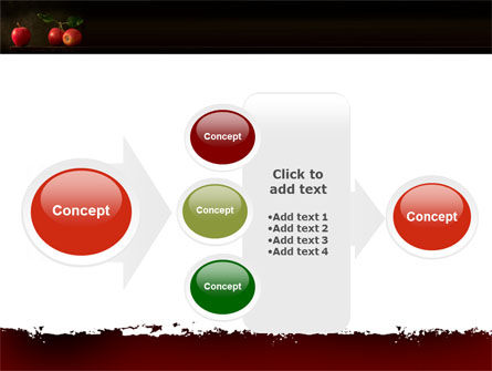 Red Apples PowerPoint Template Slide 17