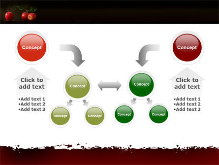 Red Apples PowerPoint Template Slide 19