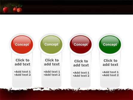 Red Apples PowerPoint Template Slide 5