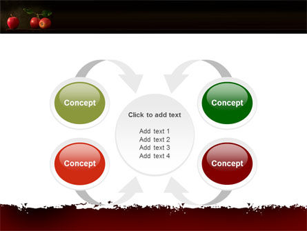 Red Apples PowerPoint Template Slide 6