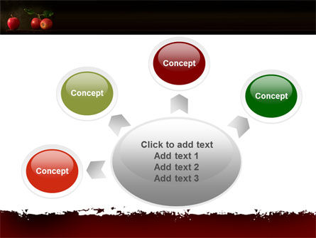 Red Apples PowerPoint Template Slide 7