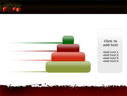 Red Apples PowerPoint Template Slide 8