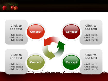 Red Apples PowerPoint Template Slide 9