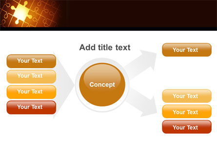 Missing Puzzle PowerPoint Template Slide 15