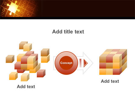 Missing Puzzle PowerPoint Template Slide 17