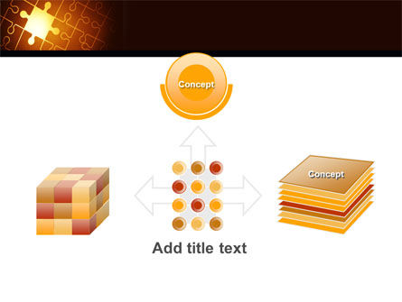 Missing Puzzle PowerPoint Template Slide 19