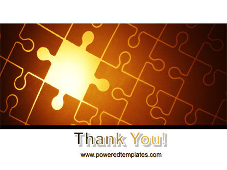 Missing Puzzle PowerPoint Template Slide 20