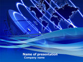 Telecommunication: Broadcasting Network PowerPoint Template #05044
