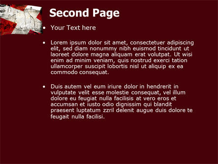 Denmark PowerPoint Template, Slide 2, 05046, Flags/International — PoweredTemplate.com